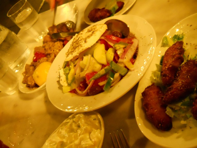 Greek meal