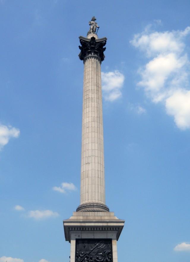column in trafagar