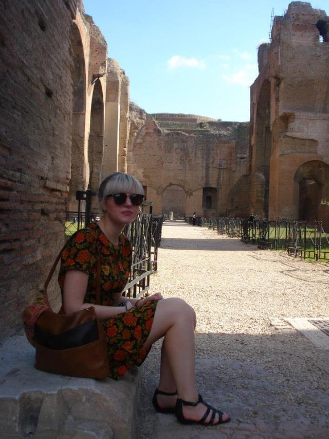 Rome Baths Ruins
