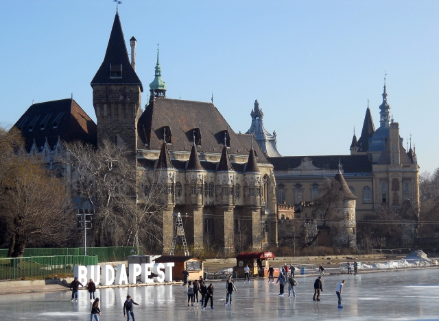 Budapest outdoor Ice Rink