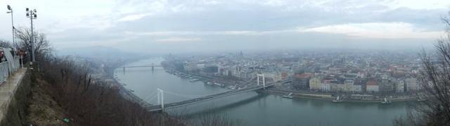 Panorama River Budapest