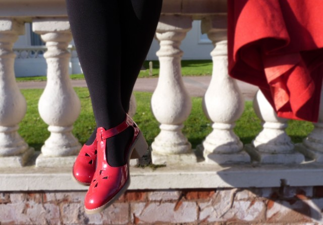 red dolly shoes